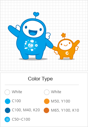 Character and color type