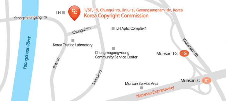 kcc headquaters map image